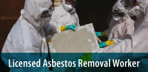 Licensed Asbestos Removal Worker Hazards & Controls RPE