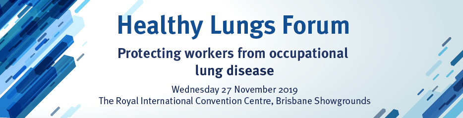 Healthy Lungs Forum   BFA AIOH Peter Aspinall